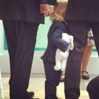 La pareja con su hijo Zachary Foto:Instagram @eltonjohn