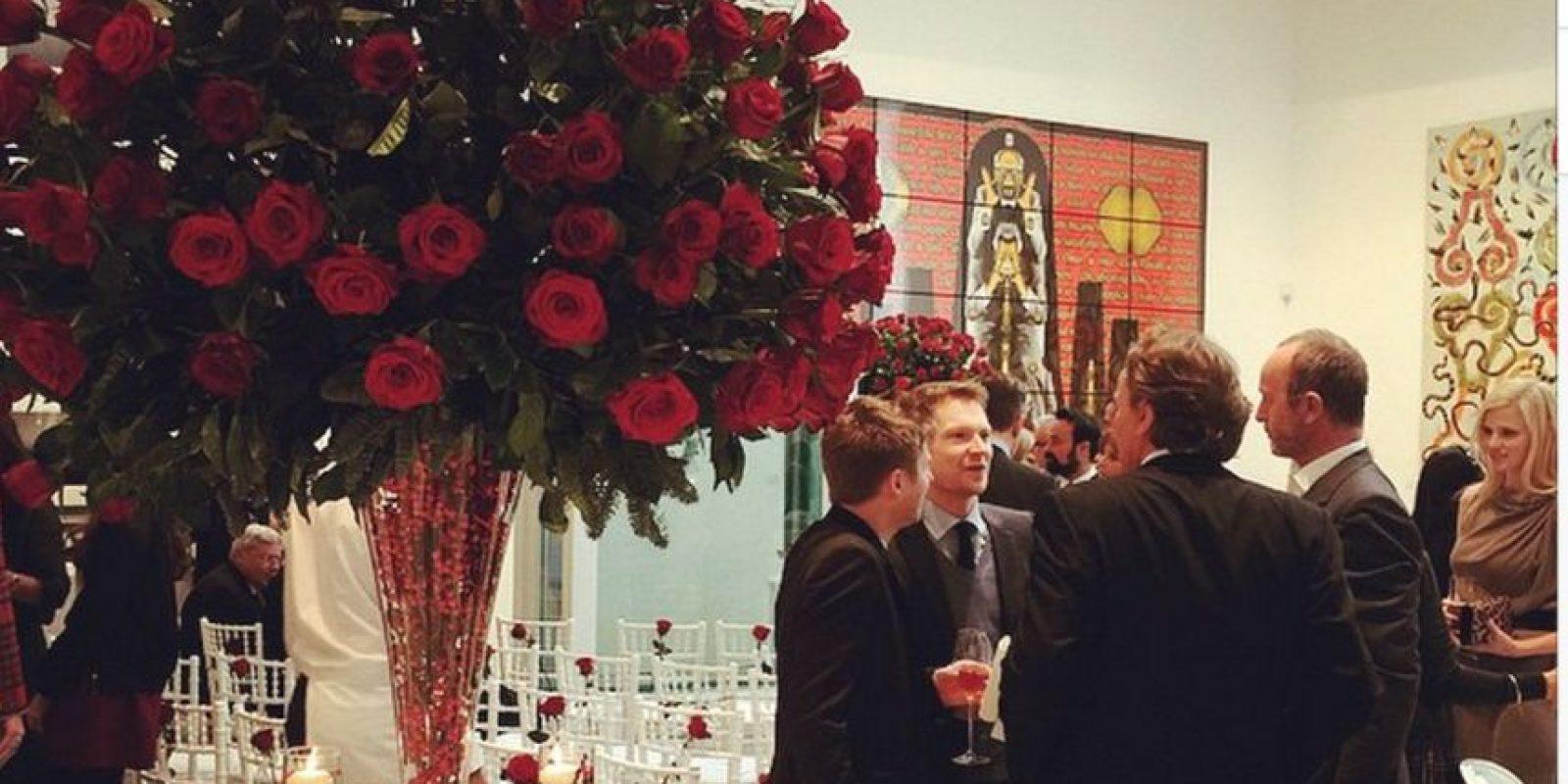 El lugar de la fiesta Foto:Instagram @eltonjohn