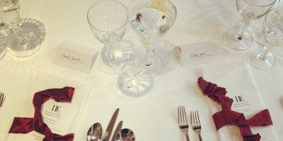 Las mesas de la fiesta Foto:Instagram @eltonjohn