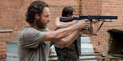 """Rick y Daryl son los protagonistas de la serie Foto:Facebook """"The Walking Dead"""""""