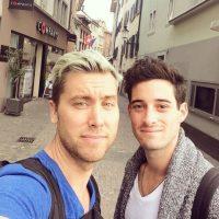 Lance Bass y Michael Turchin Foto:Instagram
