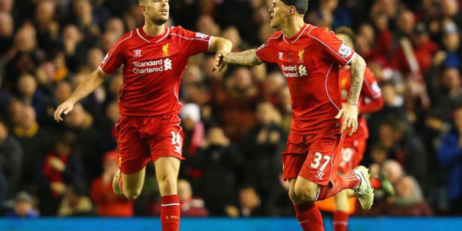 El club de Anfield iba perdiendo al momento del incidente. Foto:Getty Images