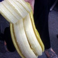 Bananas gemelas Foto:Agencias
