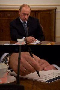 Vladimír Putin escribe lo más importante Foto:Agencias