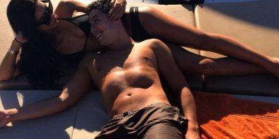 El francés con su polémica novia Anara Atanes Foto:Instagram: @anaragram
