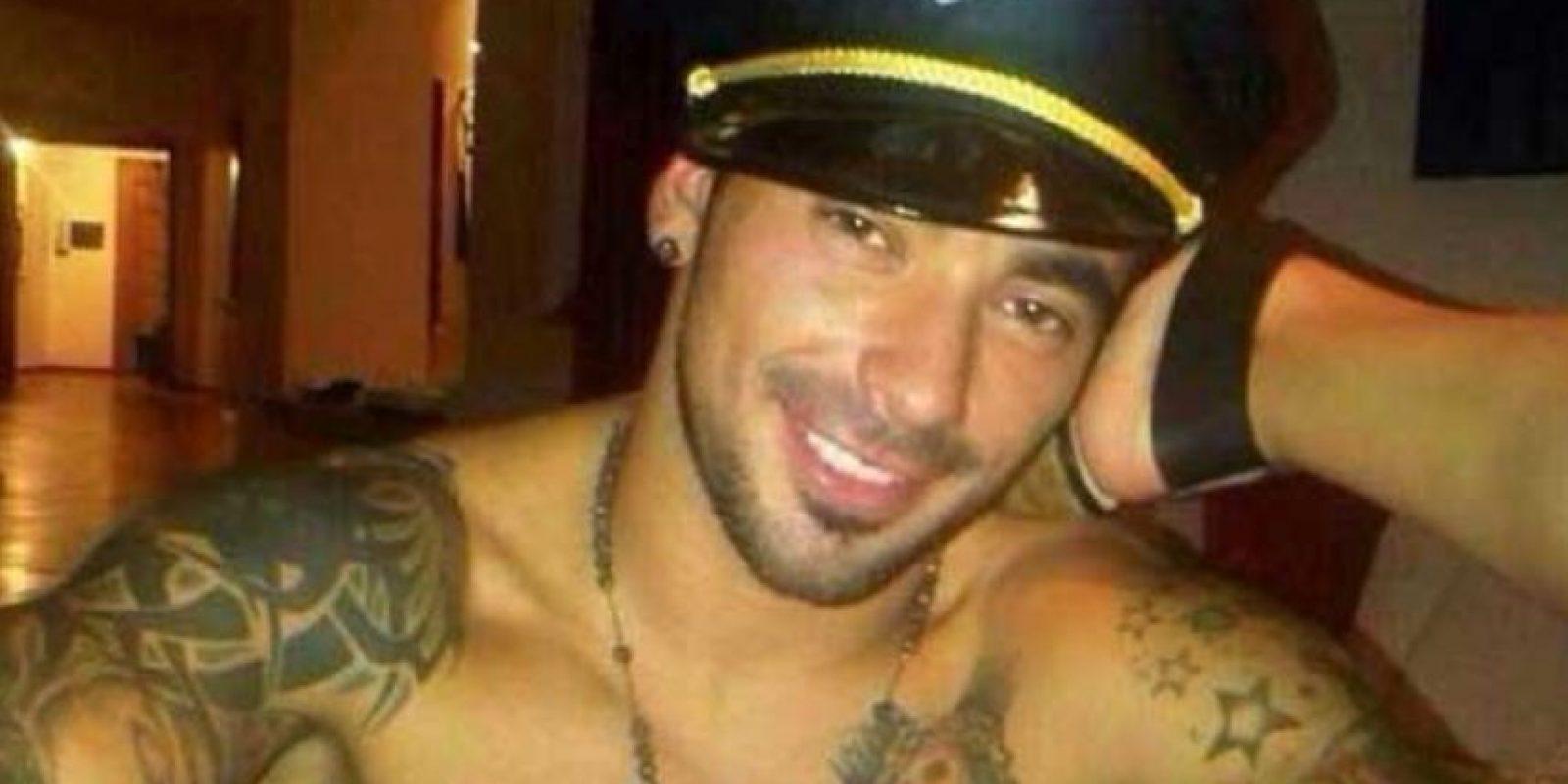 Después del Mundial se filtraron fotos íntimas del futbolista argentino con su pareja, Yanina Screpante Foto:Twitter
