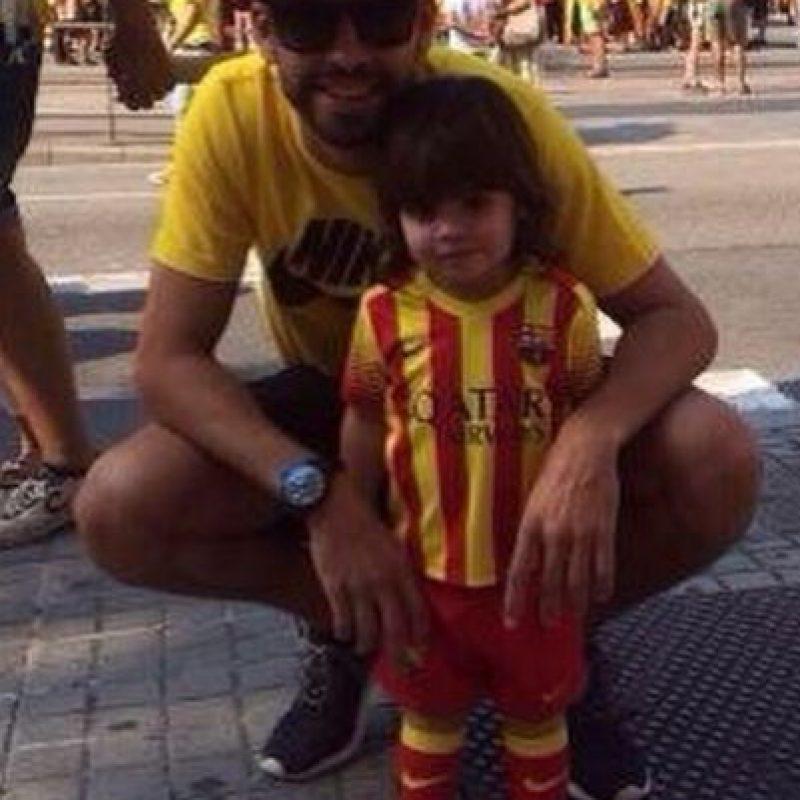 Gerrard Piqué, jugador español. Foto:instagram.com/3gerardpique