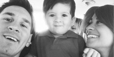 Thiago nació en 2012 y es hijo de Messi y Antonella Roccuzzo. Foto:instagram.com/leomessi