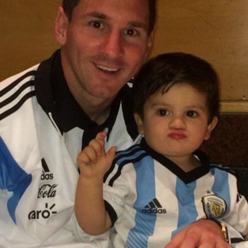 Messi y Antonella son pareja desde 2008 pero no han contraído matrimonio. Foto:instagram.com/leomessi