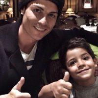 Cristiano Ronaldo Jr. nació en 2010. Foto:instagram.com/cristiano