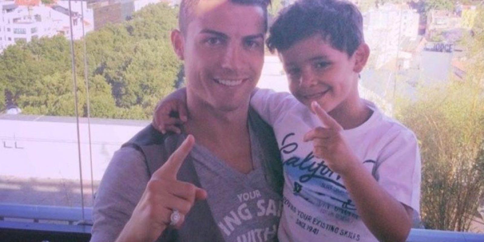 Cristiano Ronaldo, jugador portugués. Foto:instagram.com/cristiano