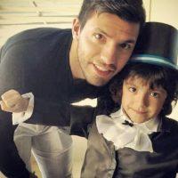 Benjamín nació en 2009; es hijo de Sergio y Gianinna Maradona. Foto:instagram.com/aguerosergiokun16