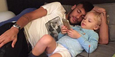 David Lucca da Silva tiene tres años de edad. Foto:instagram.com/neymarjr