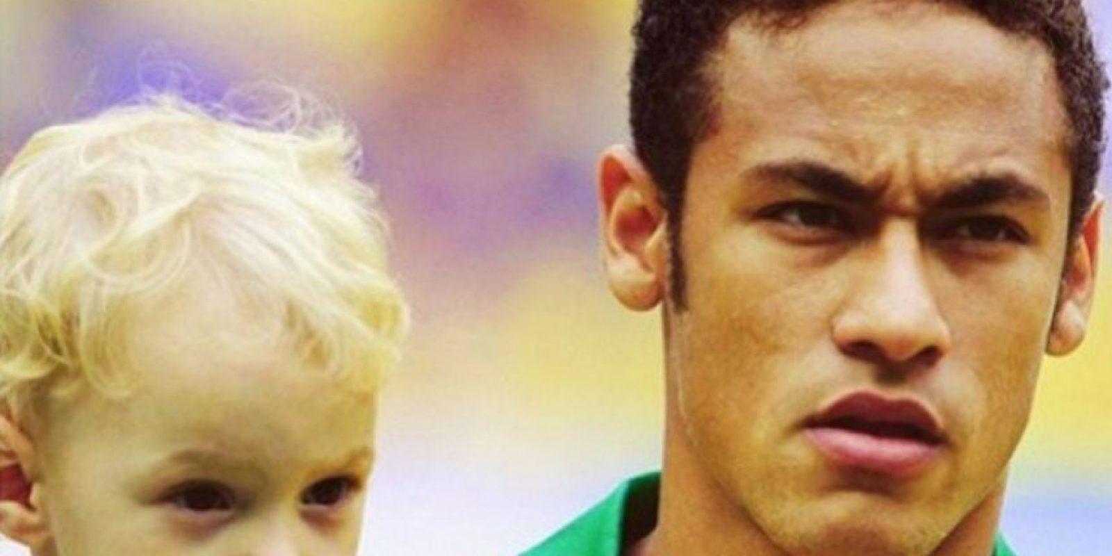 Carolina Dantas es la madre de David Lucca y fue novia de Neymar durante varios meses. Foto:instagram.com/neymarjr