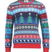 El Suéter Navideño Multicolor Foto:britishchristmasjumpers.com