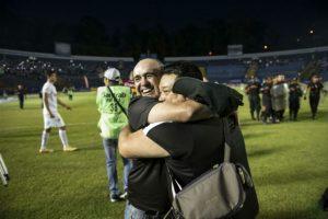 Esta es la primera vez que William Coito Olivera gana un título como entrenador del equipo mayor de Comunicaciones. Foto:Oliver de Ros