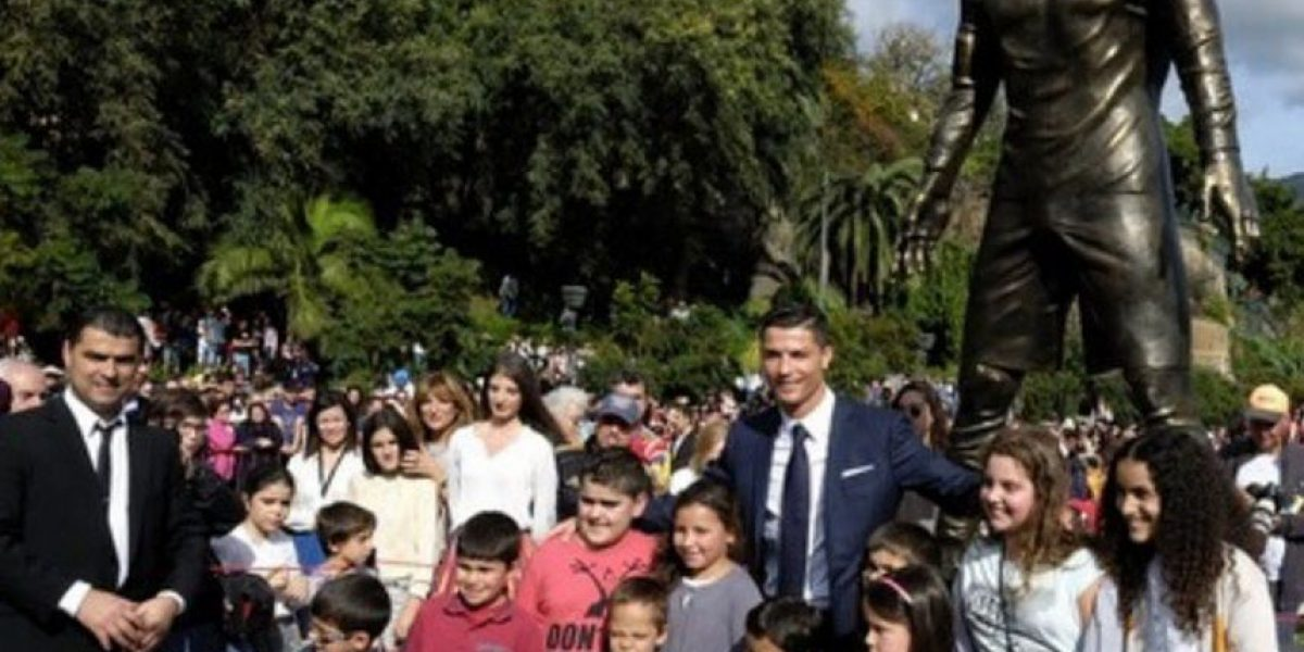 FOTOS: Inmortalizan a Cristiano Ronaldo