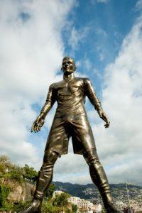 Esta es su estatua Foto:AFP