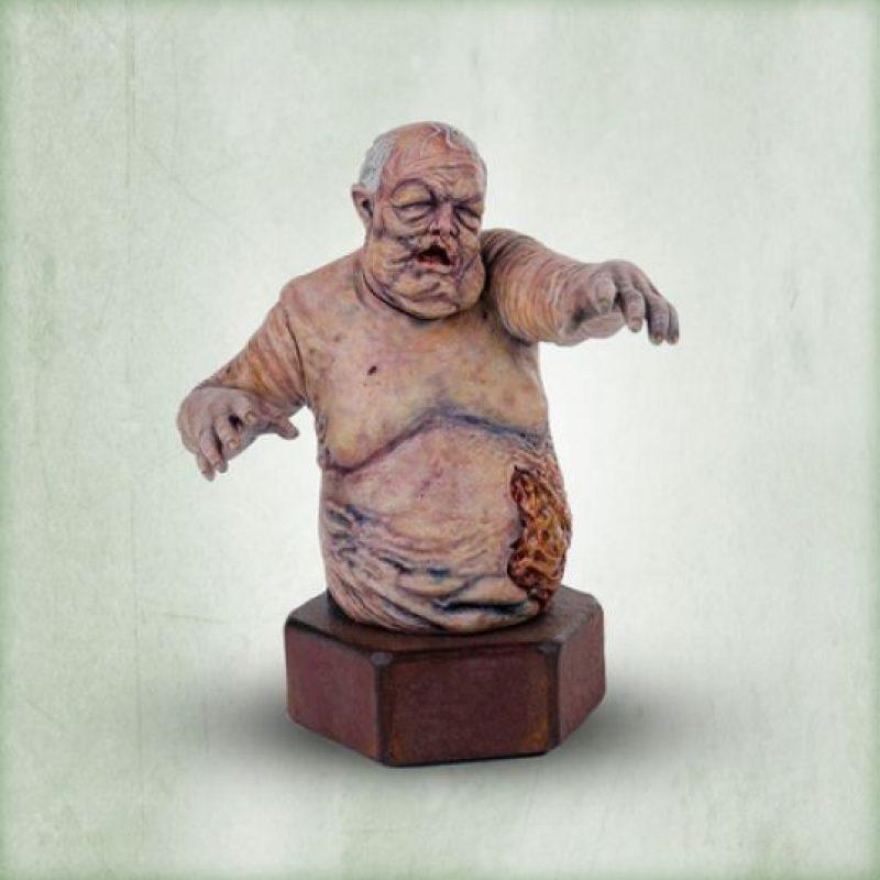 """El busto de un """"caminante"""" Foto:shopthewalkingdead.com"""