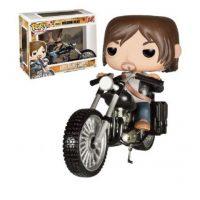 Un muñeco de Daryl con todo y moto Foto:vistoenpantalla.com