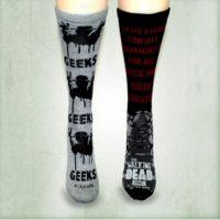 ¿Qué tal unos calcetines? Foto:shopthewalkingdead.com