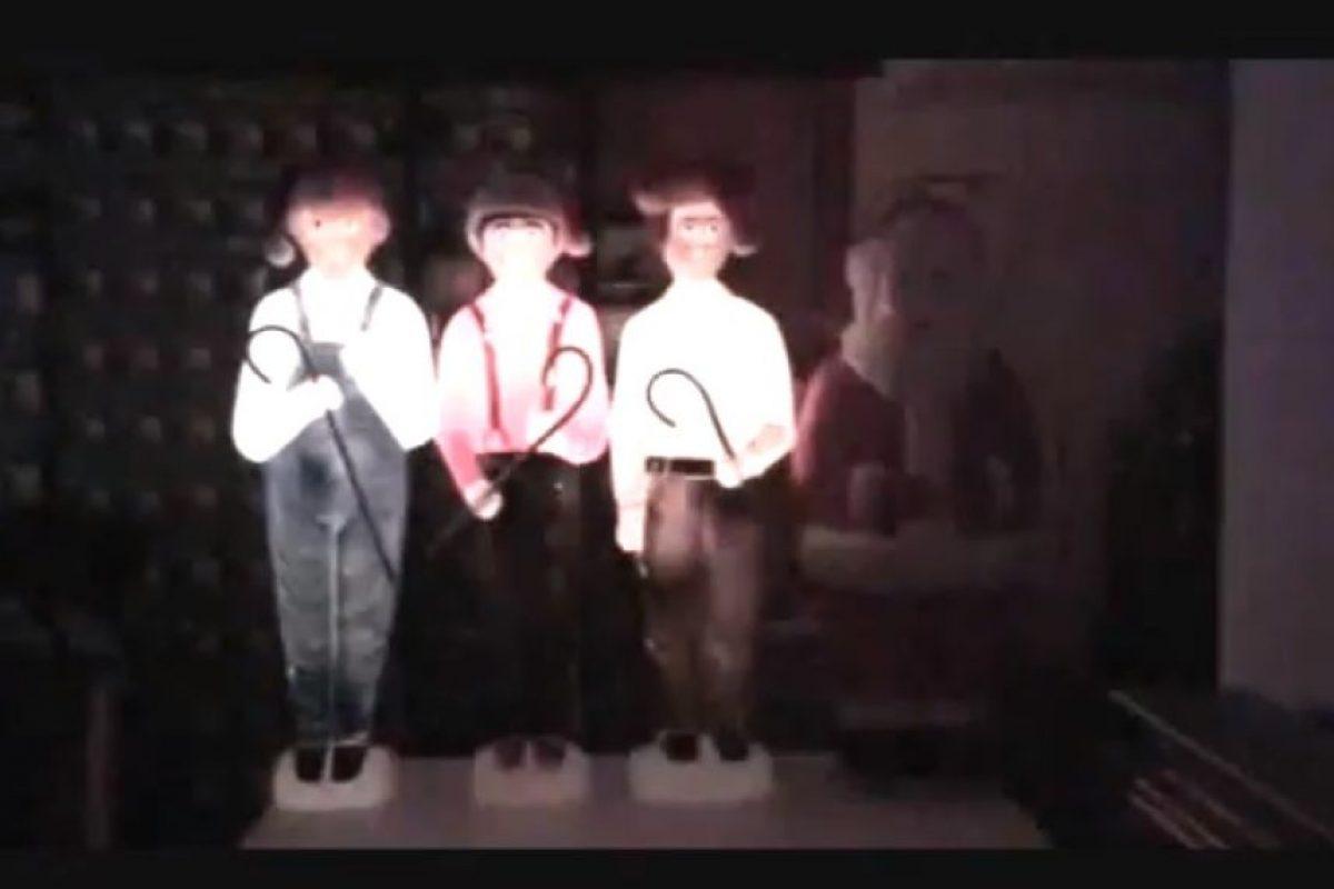 """2. Tres chiflados con """"Quiero un hipopótamo para Navidad"""" Foto:Vía Youtube"""