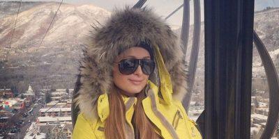 FOTOS: La Navidad de Paris Hilton, llena de lujo y mucha nieve