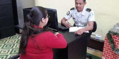 Los 128 agentes de Policía especializados en atención a la víctima. Foto:PNC
