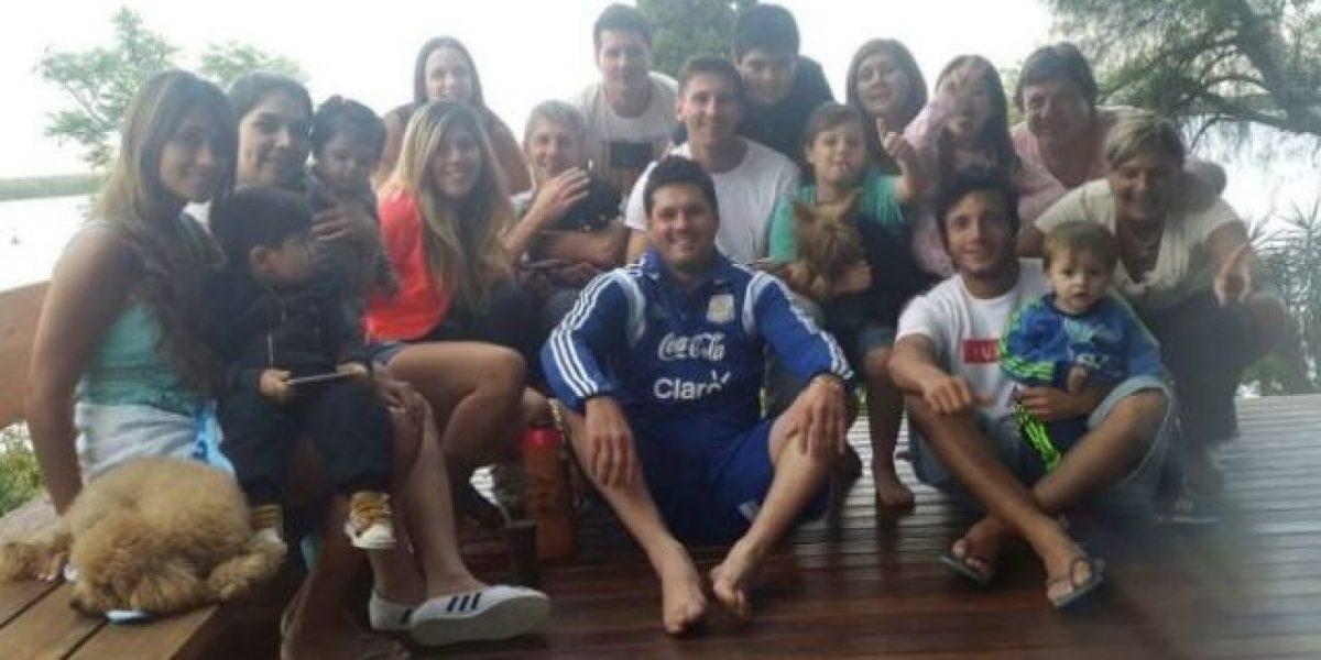Messi pasará las fiestas en su Rosario