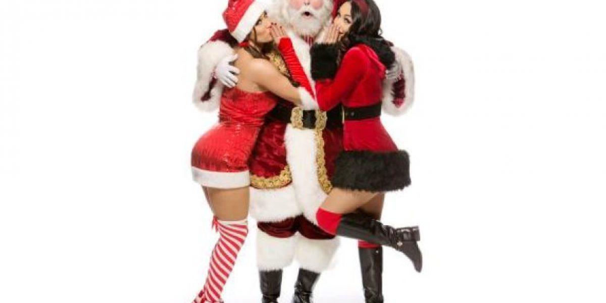 FOTOS: Así festejan la Navidad las divas de la WWE