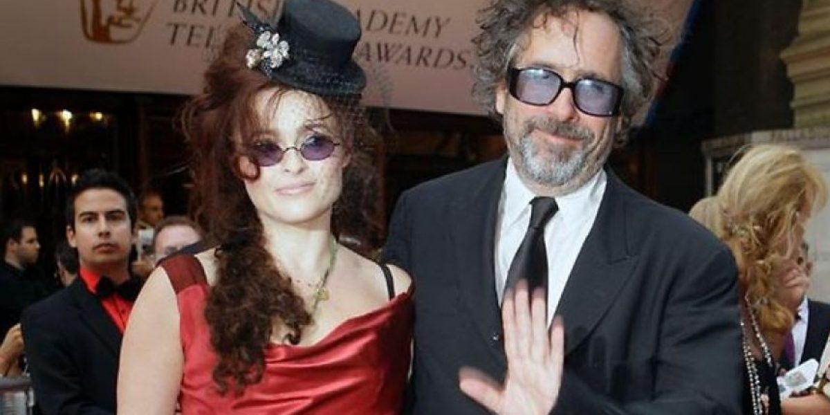 FOTOS: Tim Burton y Helena Bonham Carter no pasaran las fiestas juntos