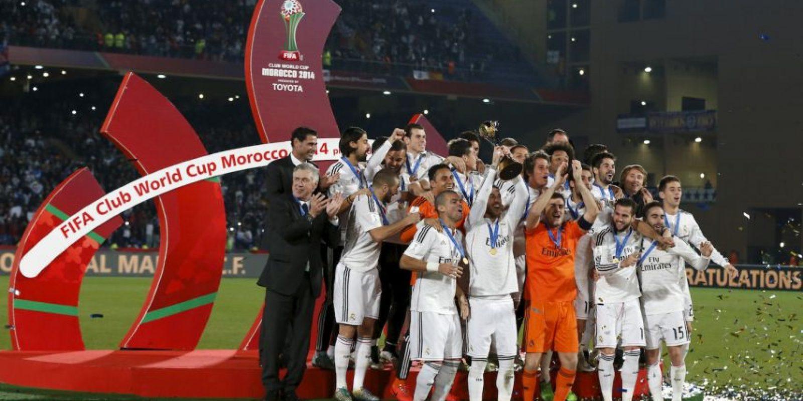 Los blancos ganaron el Mundial de Clubes Foto:Getty