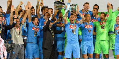 Napoli le gana la Supercopa de Italia a la Juventus de Turín