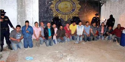 "Juez escucha a integrantes de banda criminal denominada ""los Sierra"""