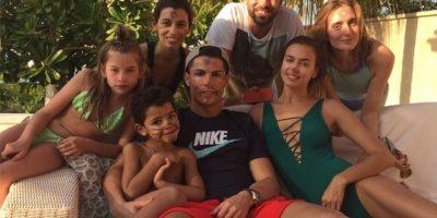 El futbolista portugués disfruta de sus vacaciones con la familia y amigos. Foto:instagram.com/cristiano