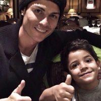 Cristiano y Cristiano Ronaldo Jr. Foto:instagram.com/cristiano