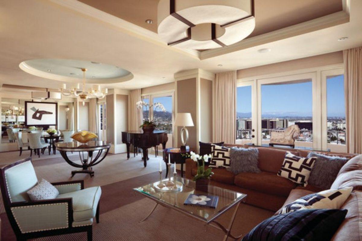 Suite presidencial en el Hotel Four Seasons de Beverly Hills Foto:Agencias
