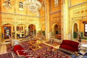 Suite presidencial en el Palacio Raj Foto:Agencias