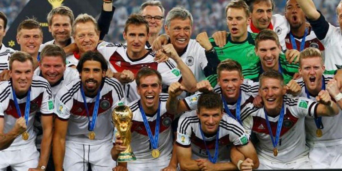 Alemania fue el más ganador
