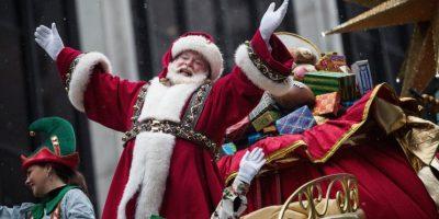 El trineo de Santa se mueve tres veces más rápido que la velocidad de la luz. Foto:Getty Images
