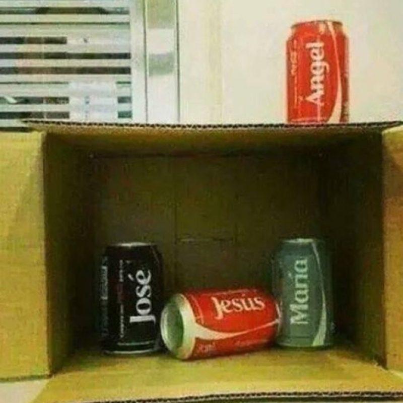 O las latas de soda. Foto:Reddit