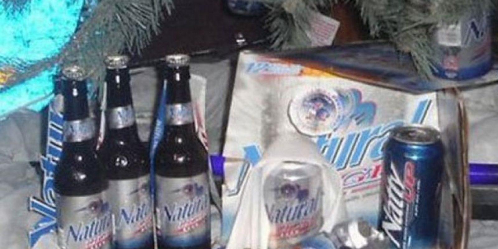 Las cervezas también celebran. Foto:Reddit
