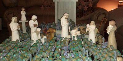 Los dinosaurios alabaron a Jesús. Foto:Reddit