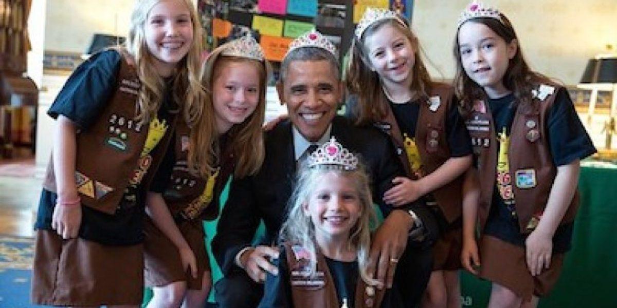 FOTO: El día en que Barack Obama estrenó su corona
