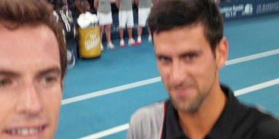 Andy junto al serbio Novak Djokovic. Foto:twitter.com/andy_murray
