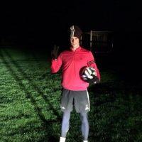 Gareth se vistió como Santa Claus y no se cansa de entrenar. Foto:twitter.com/GarethBale11