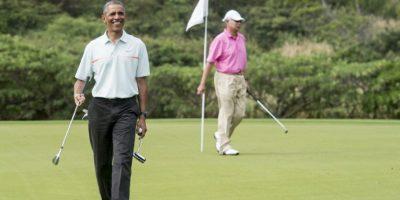 Primer Ministro de Malasia juega golf con Obama mientras su país sufre tragedia