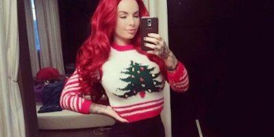 FOTOS: El espíritu navideño se apodera de la actriz porno Christy Mack