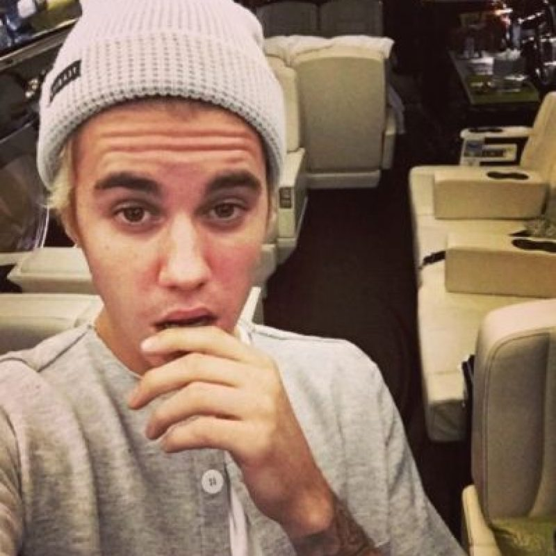 Justin Biebr presumió su nuevo jet privado. Foto:instagram.com/justinbieber