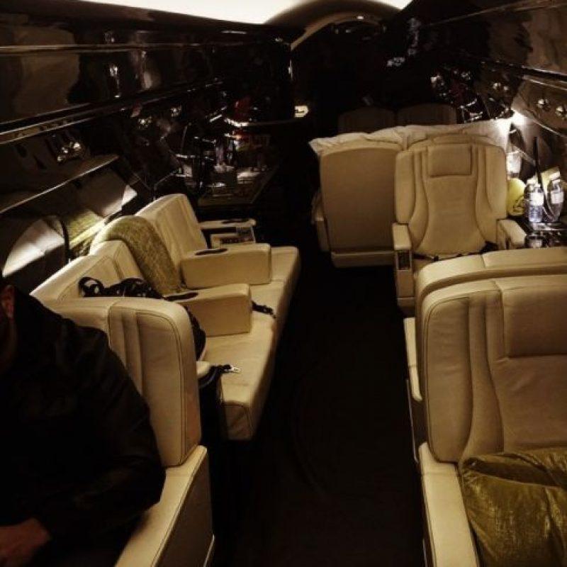 Así se ve por dentro el nuevo vehículo de Bieber. Foto:instagram.com/justinbieber